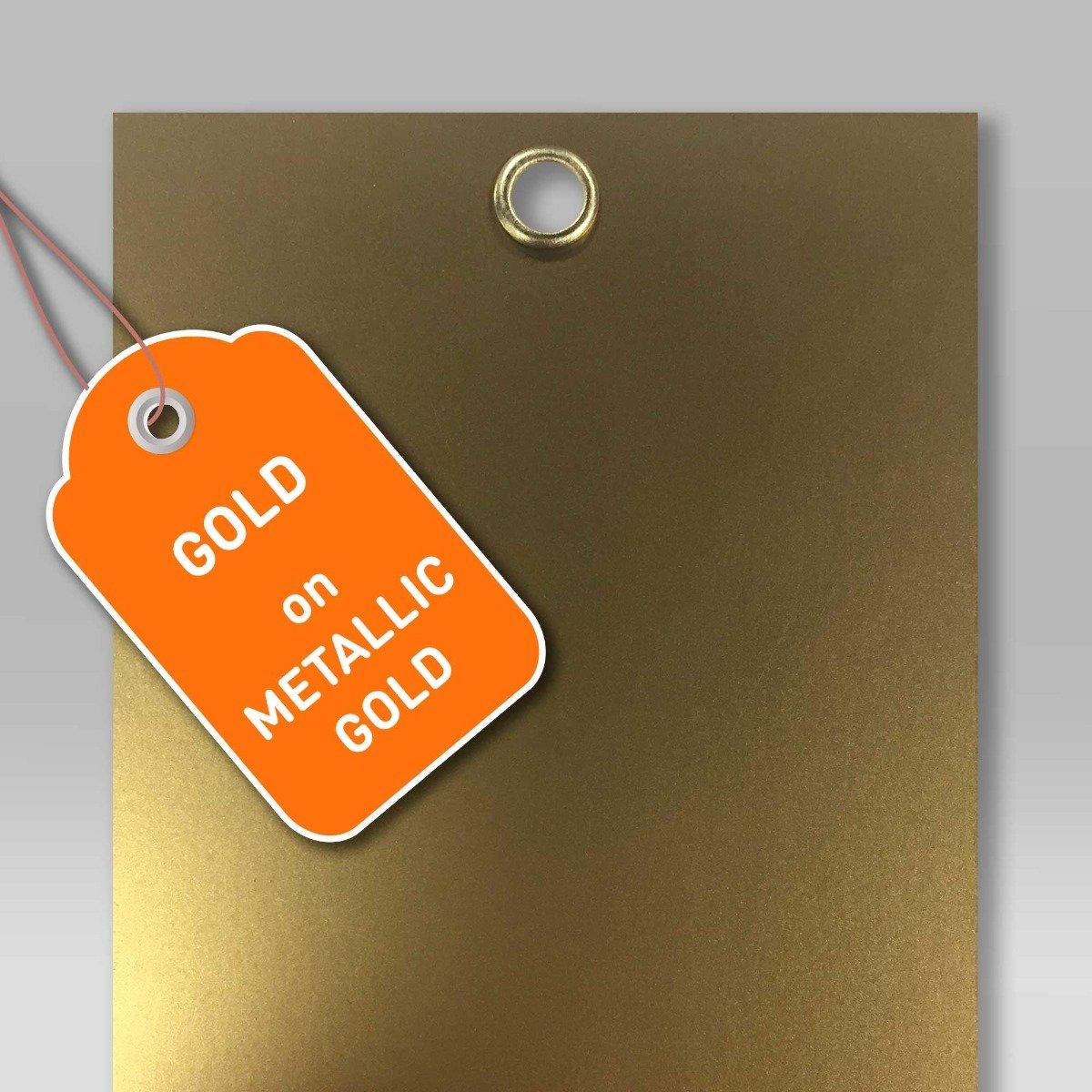 gold-eyelet-on-gold-metallic-board