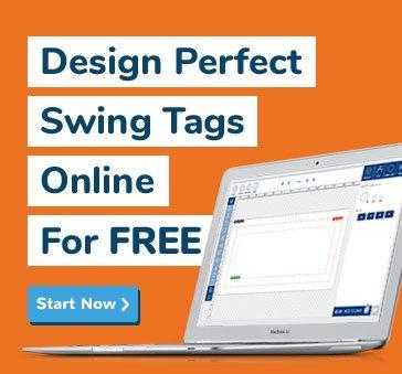 Design swing tags online start now
