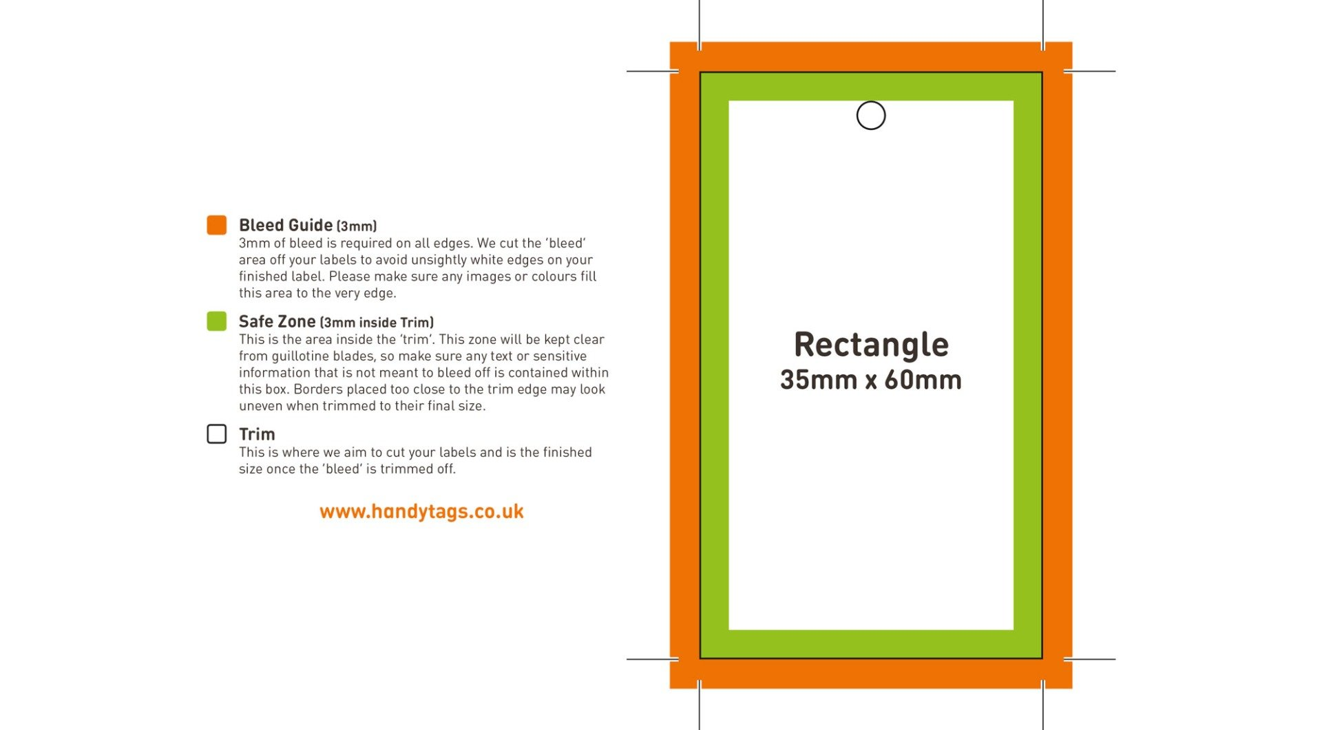 Rectangle Template Example