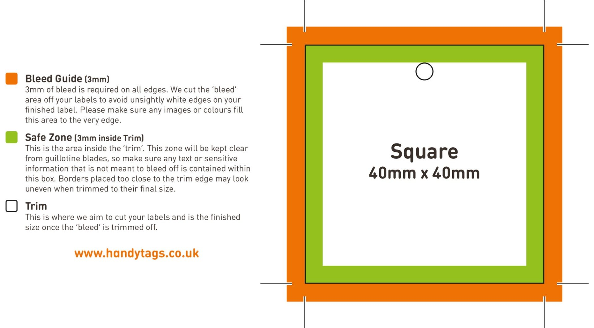 Square Template Example