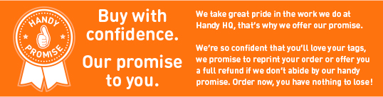 handy promise product page
